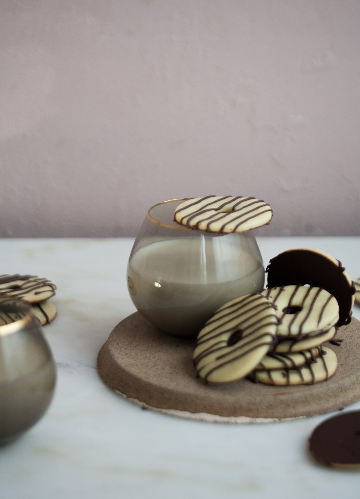 Fudge-Striped Cookies