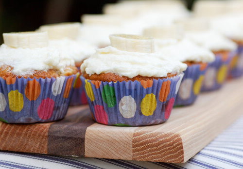 Cozy Kitchen Banana Bread Cupcakes That S Best Frosting Ever Had