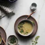 Roasted Cauliflower Turmeric Soup