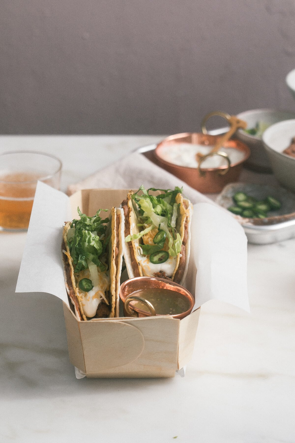 Double-Decker Tacos