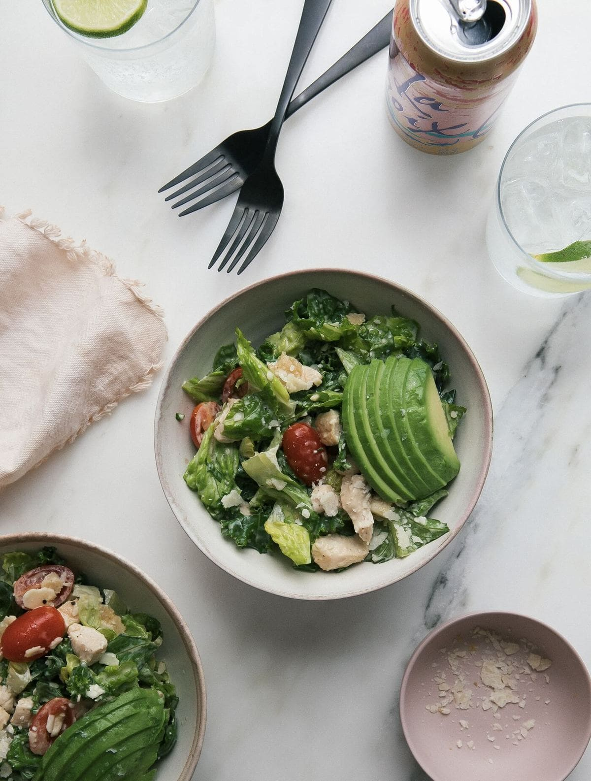 Copycat SweetGreen Kale Caesar Salad – A Cozy Kitchen