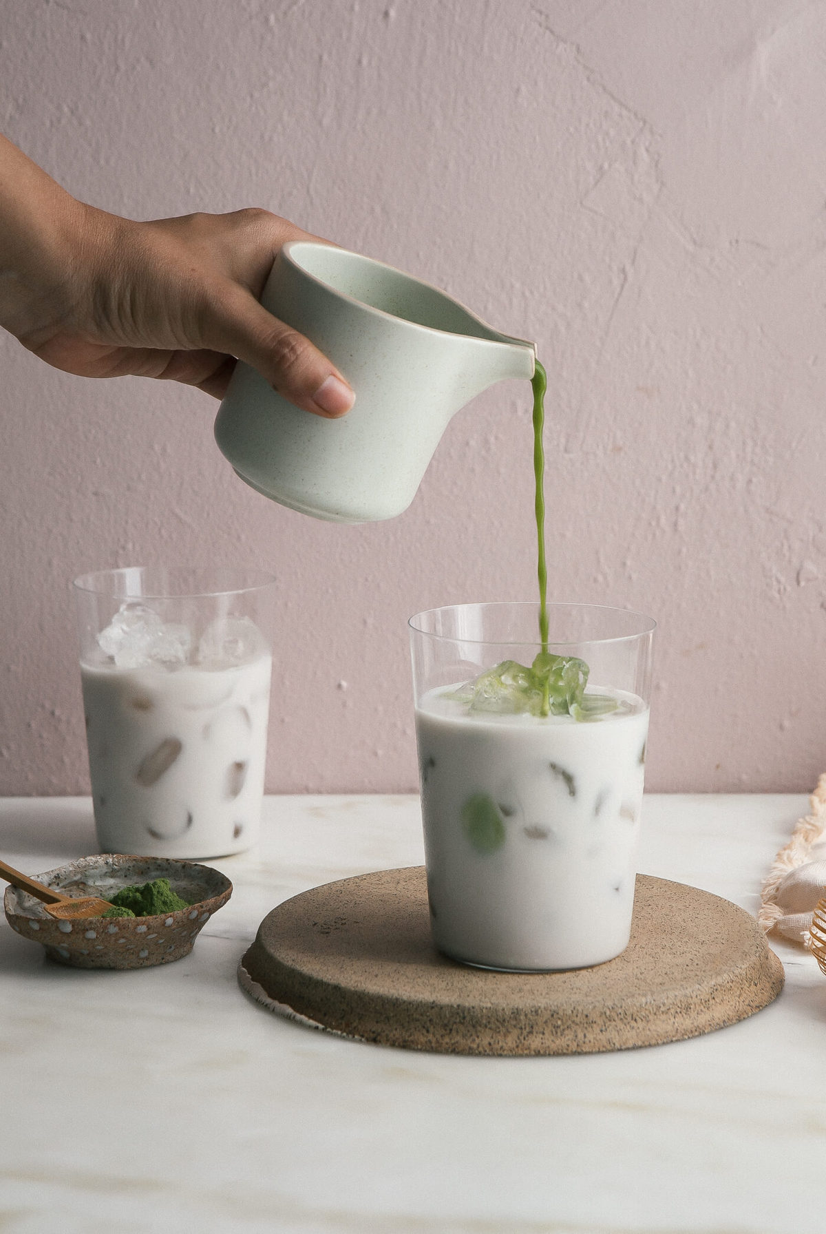 How to Make an Iced Matcha Latte