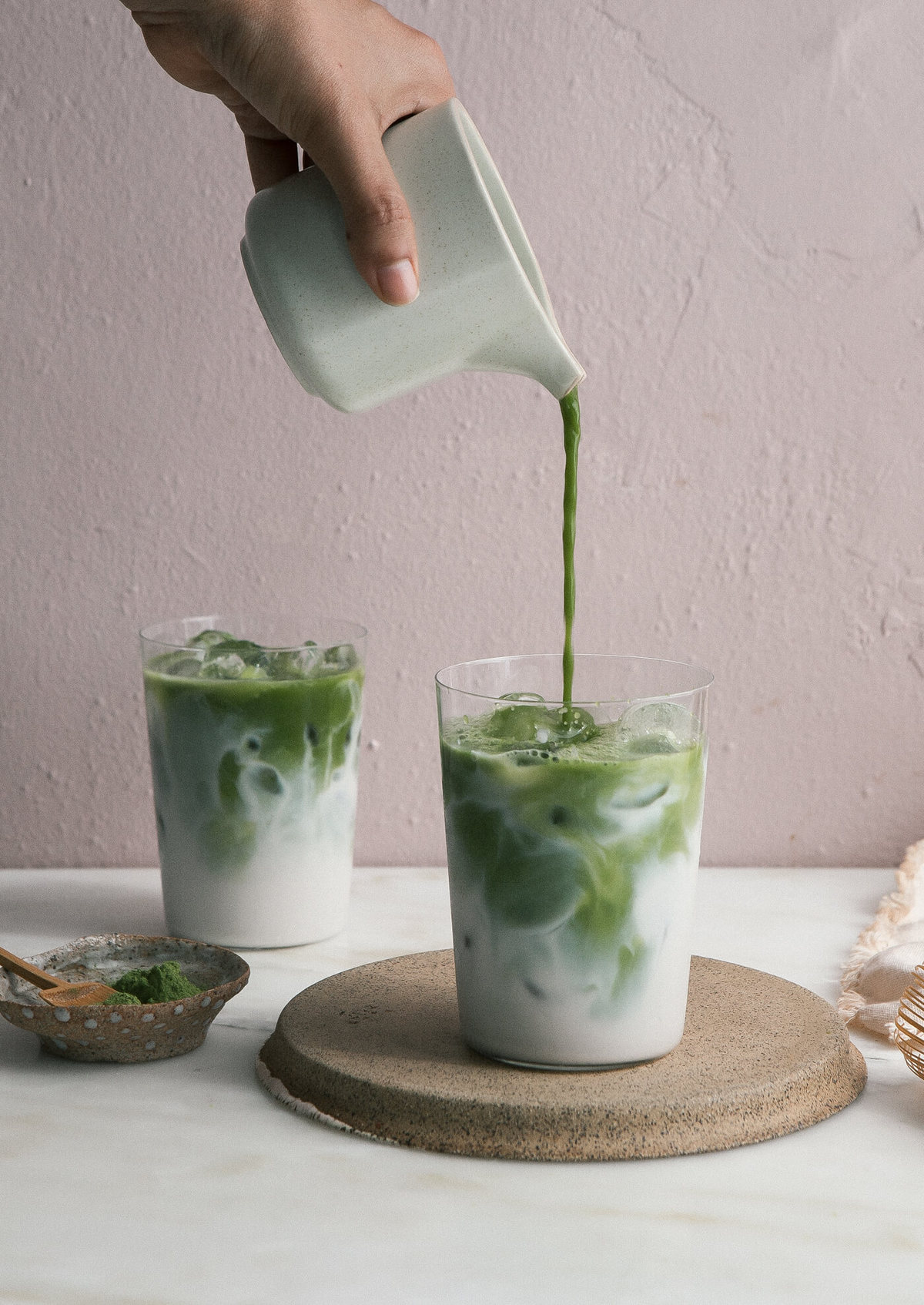 Iced Matcha Latte An Easy Recipe - A Cozy Kitchen