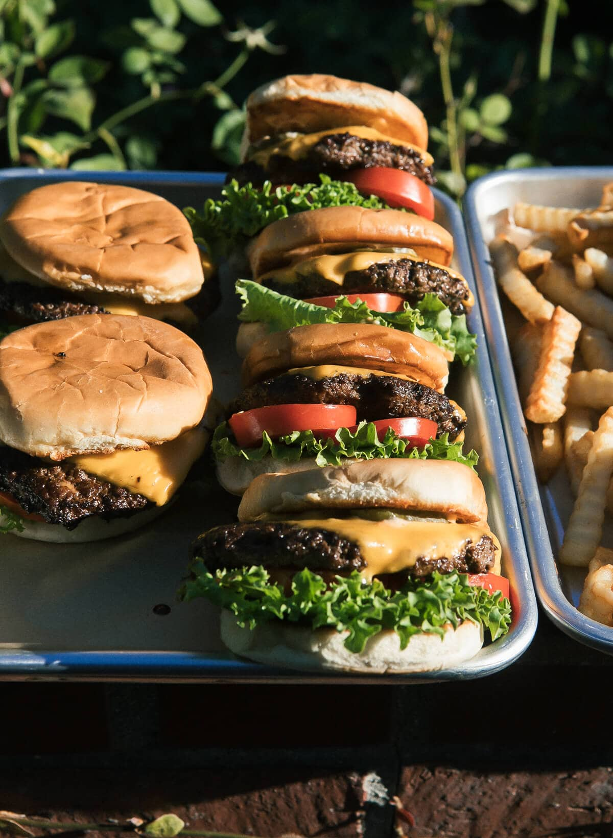 Copycat Shake Shack Burgers
