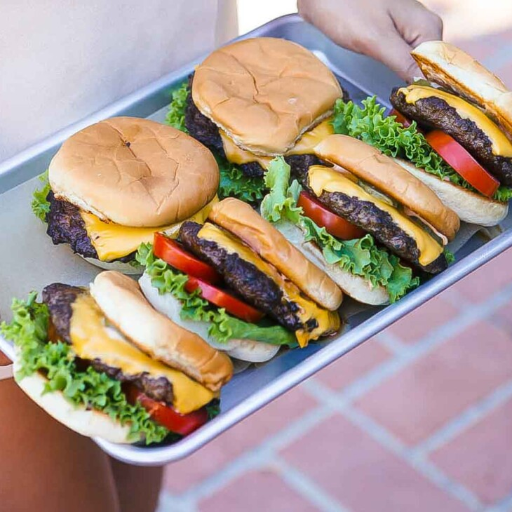 Copycat Shake Shack Burgers Recipe A Cozy Kitchen