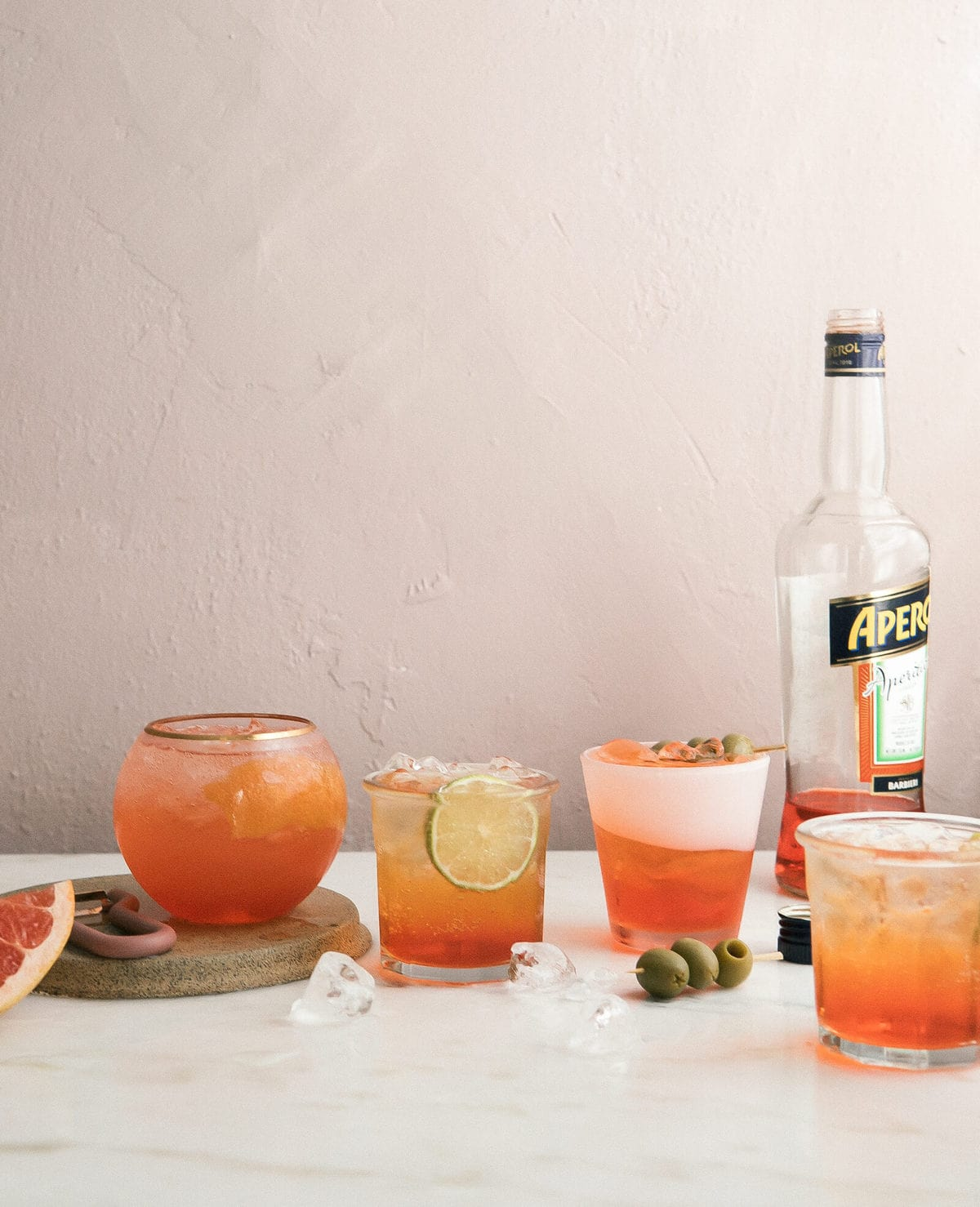 Summer of the Spritz: Aperol Spritzes Every Which Way
