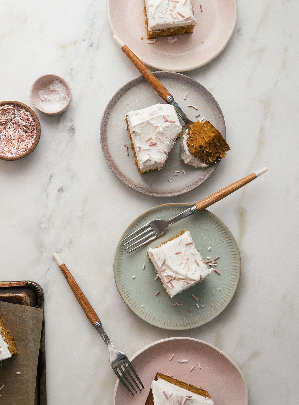 Pumpkin Sheet Cake with Brown Butter Frosting