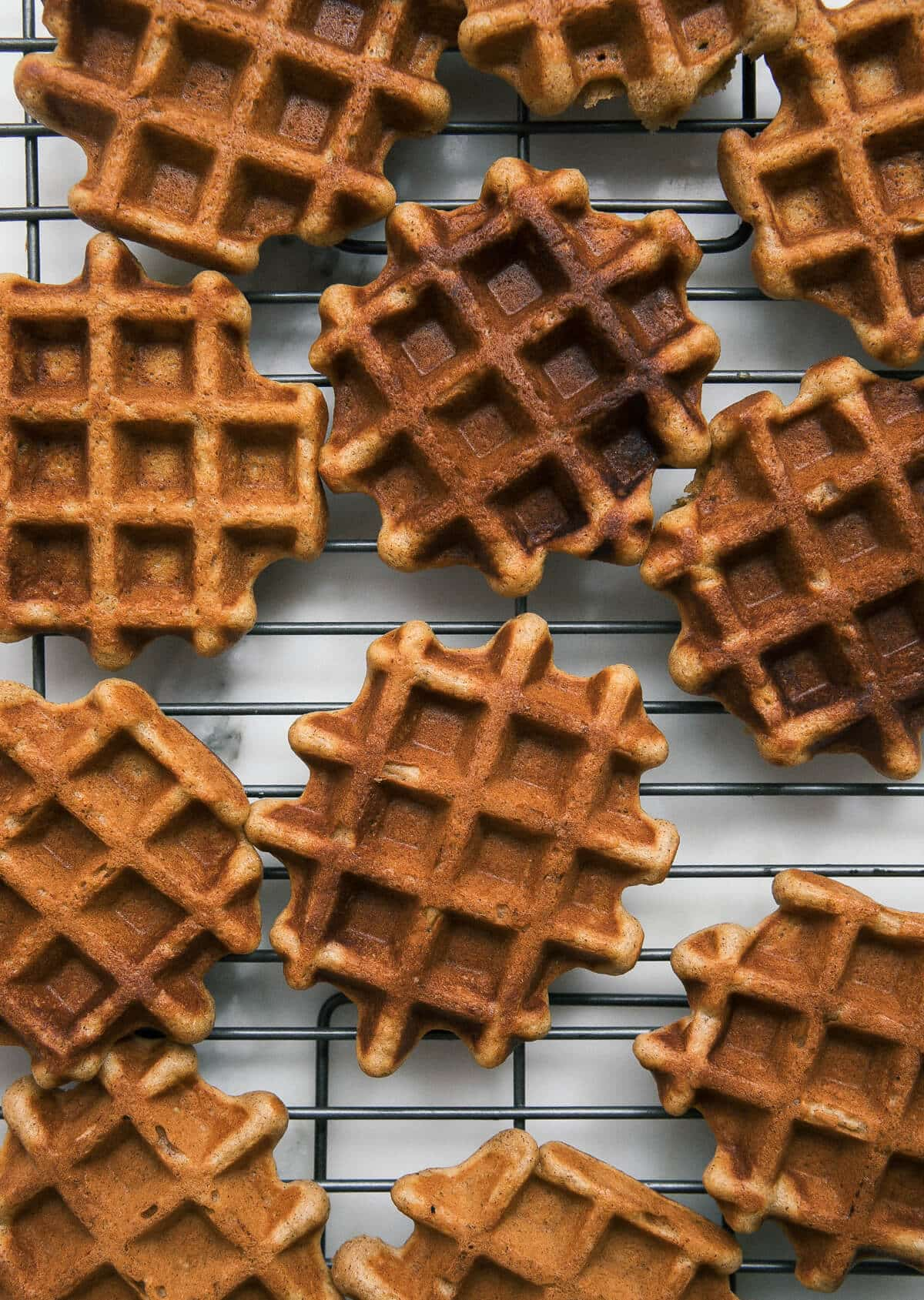 Crispy Pumpkin Waffles
