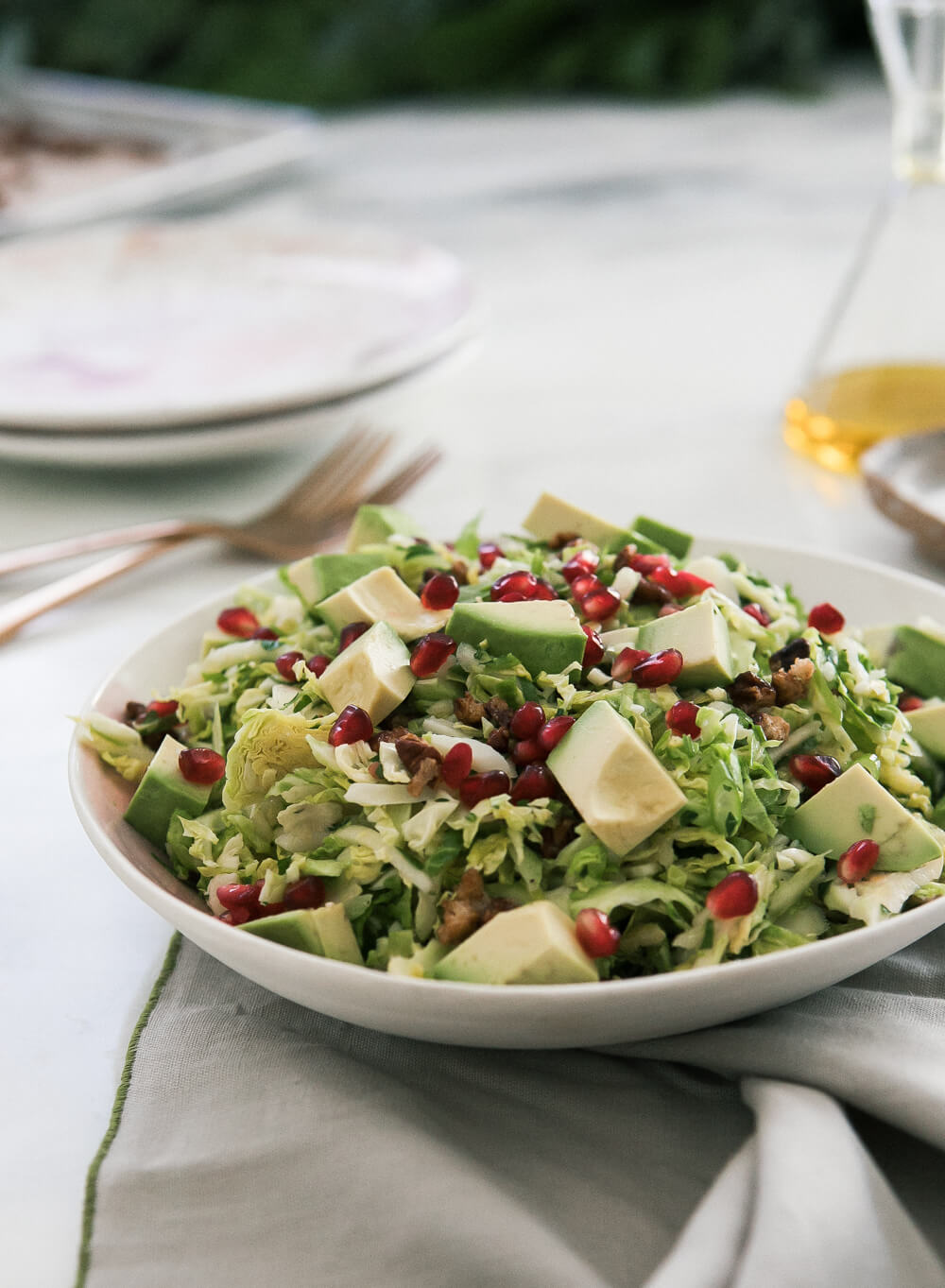 Amongst All Of The Candy And Cakes And Cookies During The Holiday Season, I  Always Love A Good Salad. To Be Completely Honest, I Think Salad Belongs On  ...