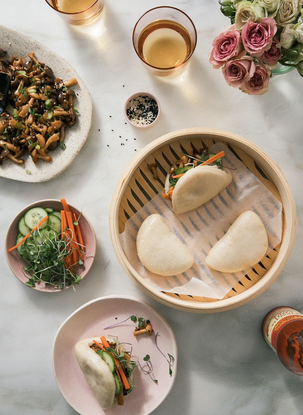 Vegetarian Bao Buns
