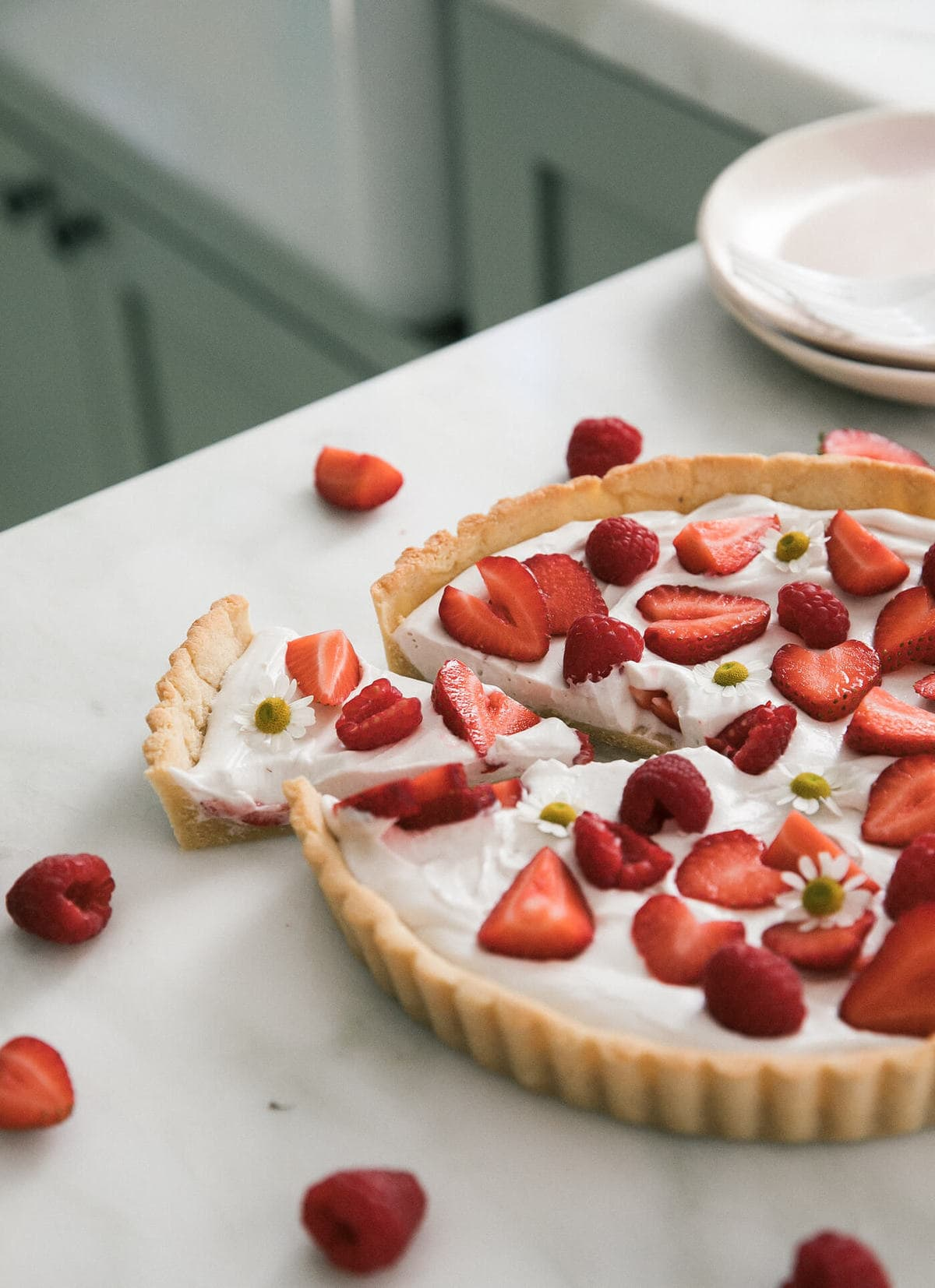 Gluten-Free Strawberry Tart