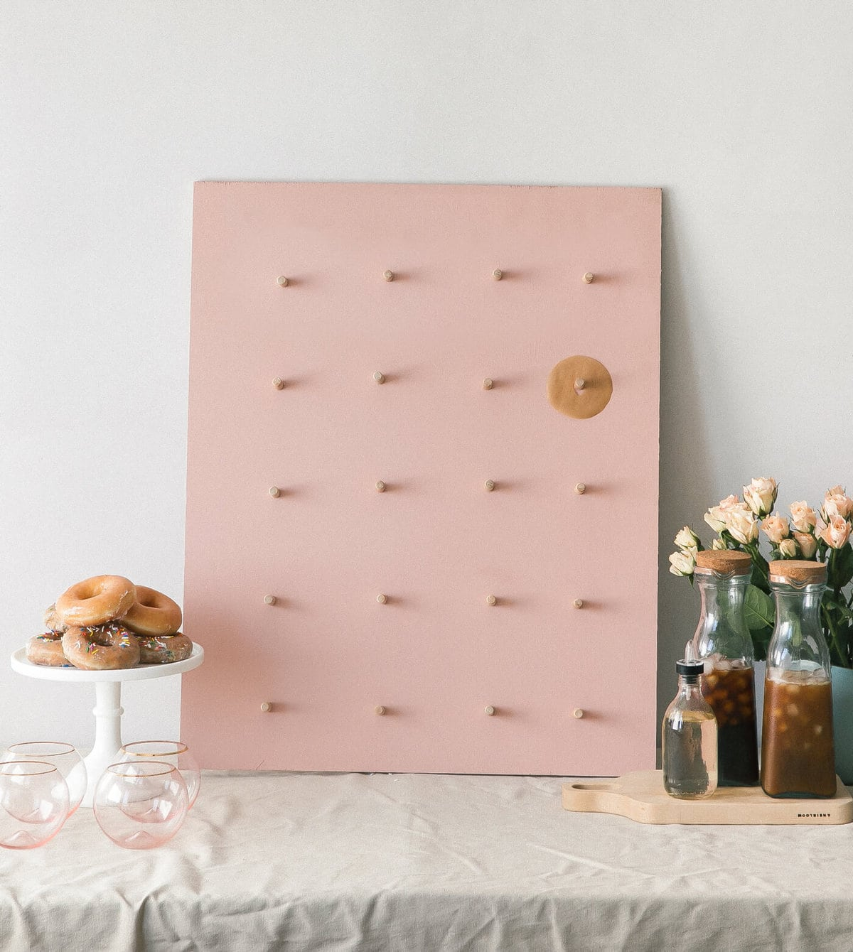 Steps To Create A Cosy Kitchen: How To Make A Doughnut Wall