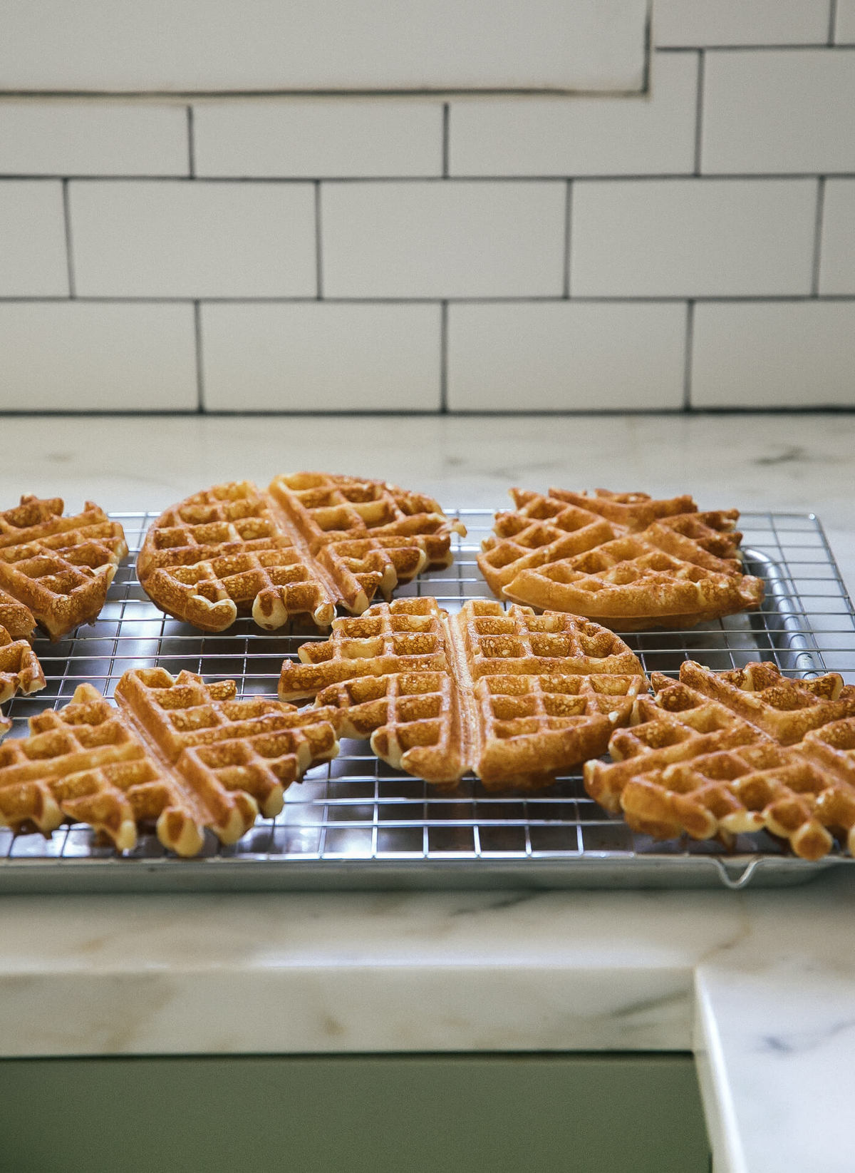 Very Crispy Waffles