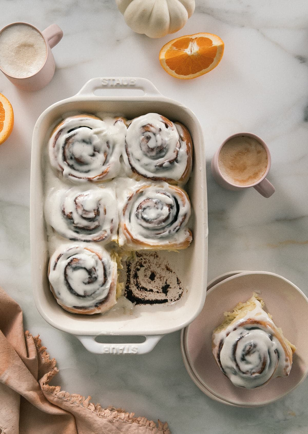 Chocolate + Orange Morning Rolls