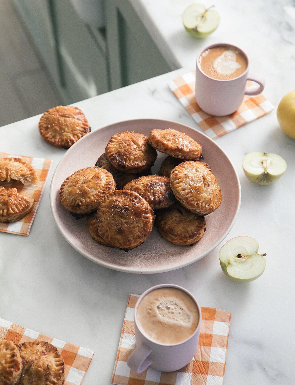 Cheddar Rye Apple Hand Pies