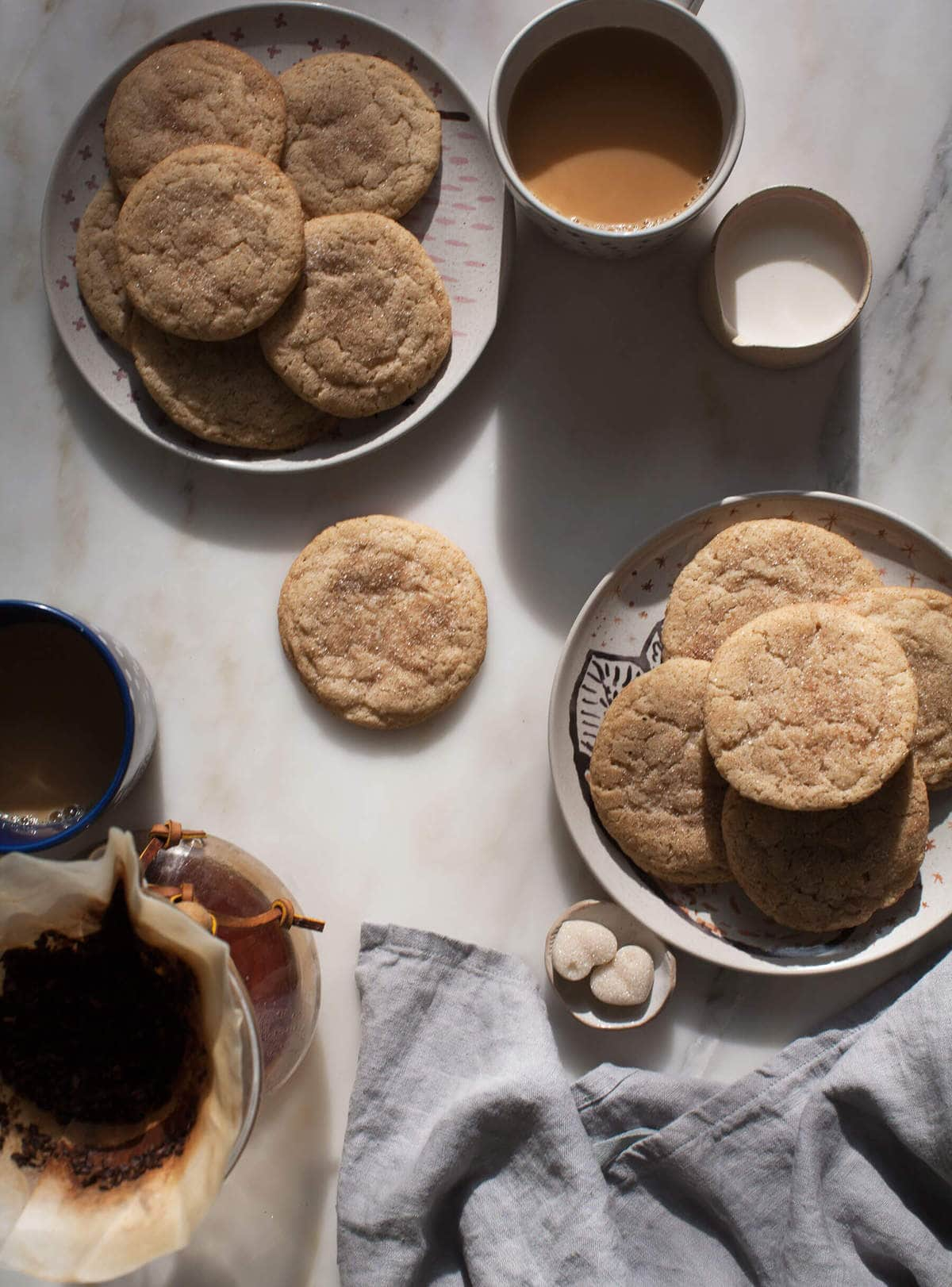 Chewy Chai Masala Snickerdoodles