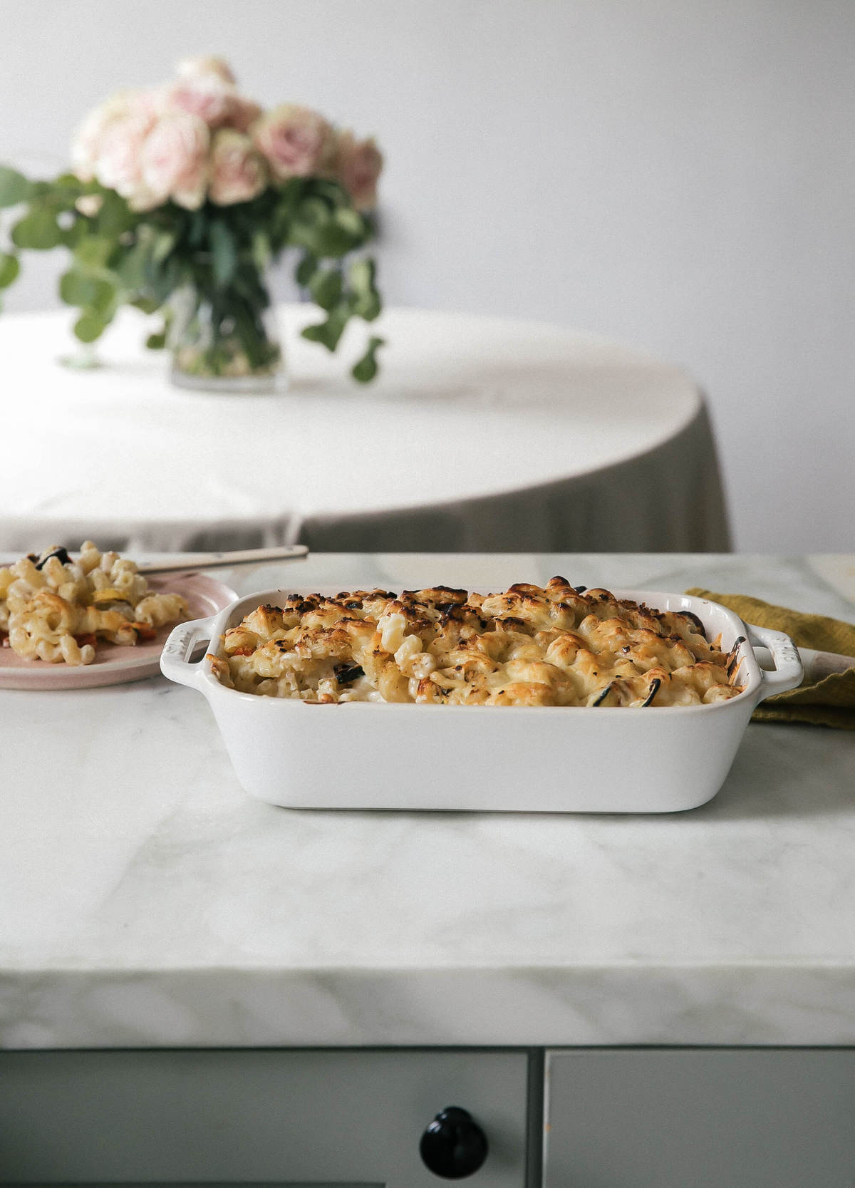 Summer Veggie Macaroni and Cheese