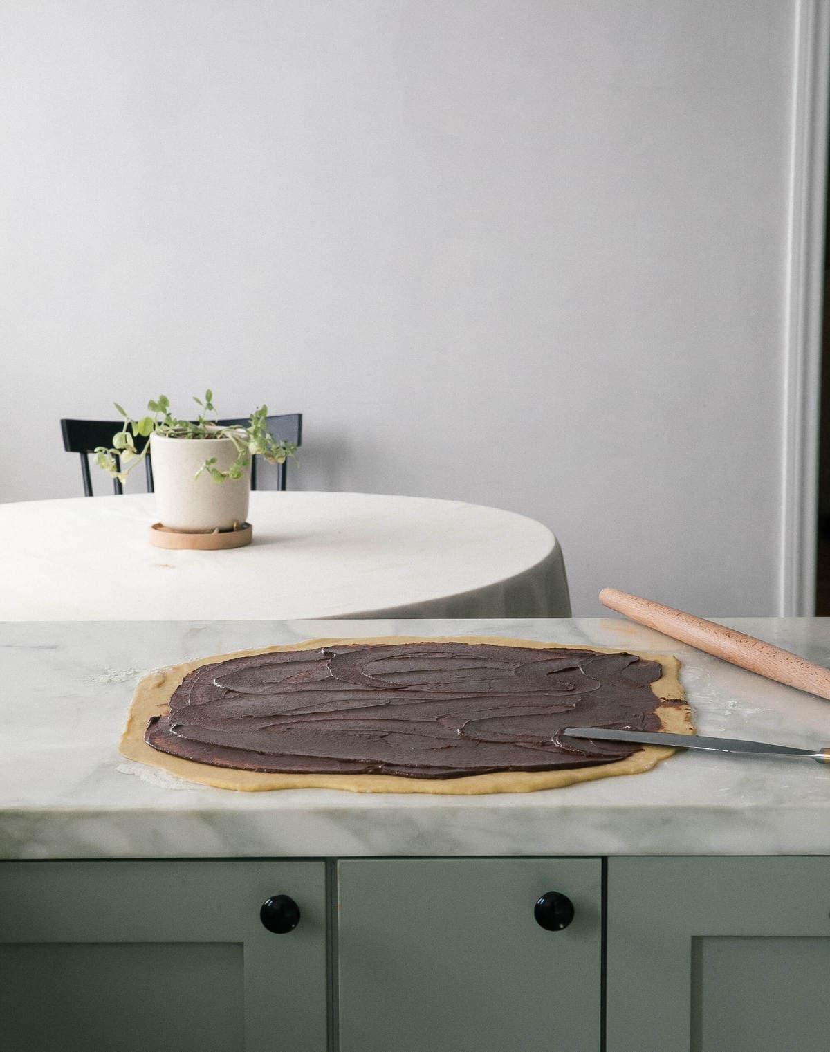 Chocolate Cardamom Morning Rolls