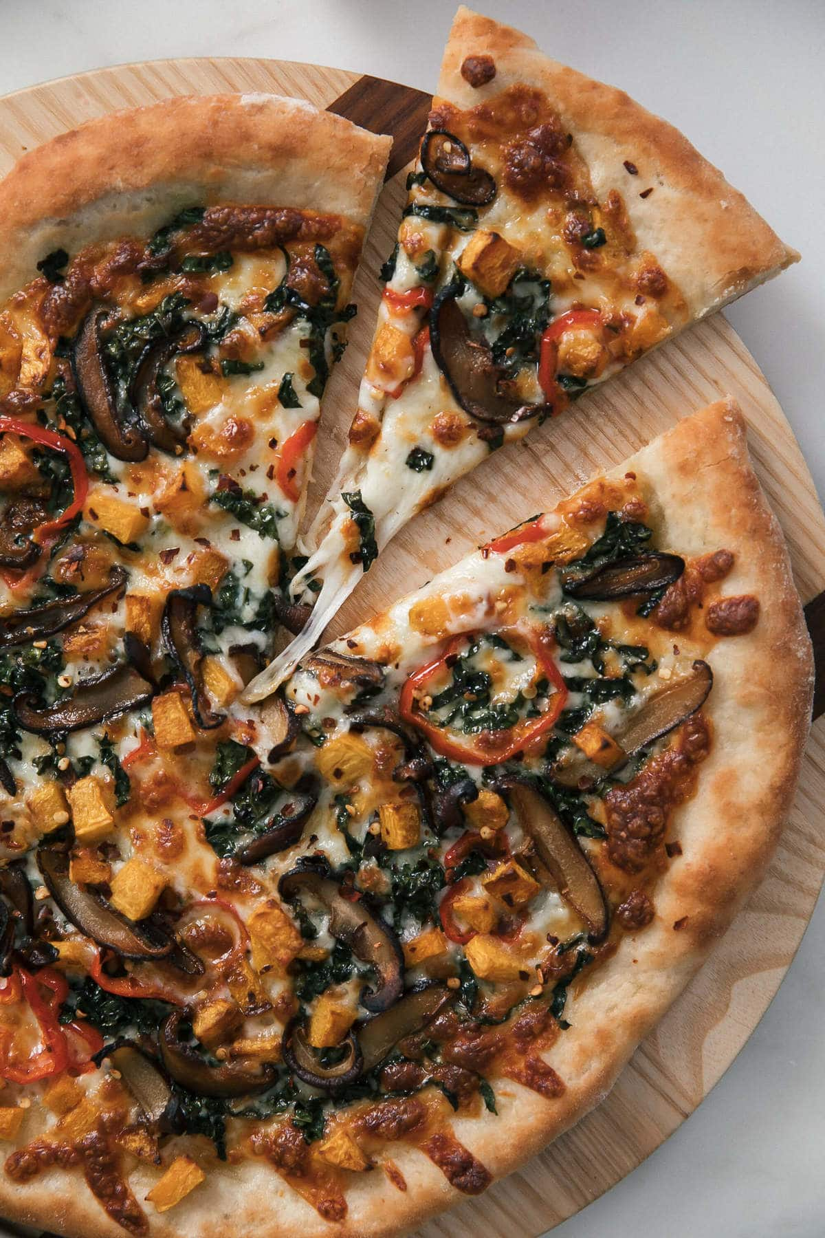 30-Minute Fall Veggie Pizza