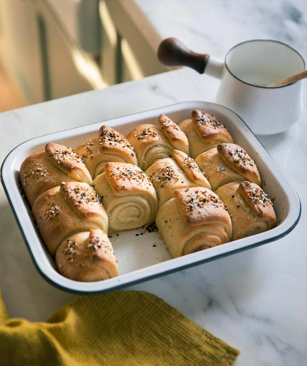 Everything Parker House Rolls