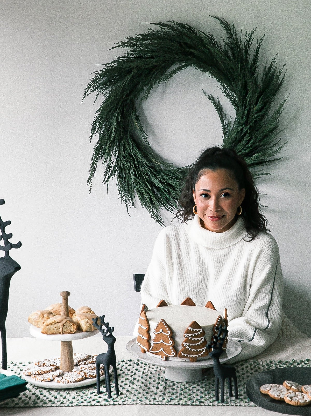 Holiday Dessert Table with Crate and Barrel