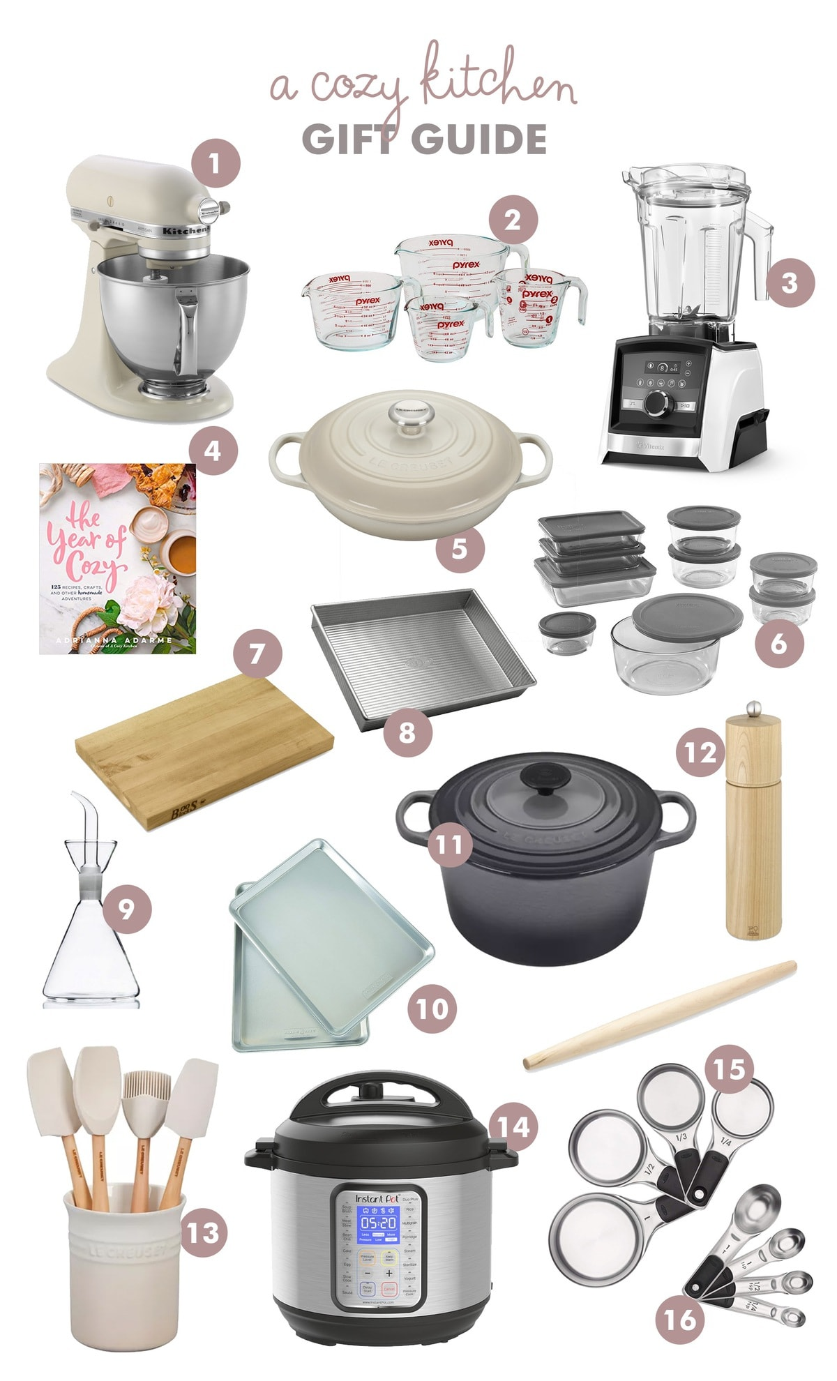 A Cozy Kitchen Gift Guide 2019