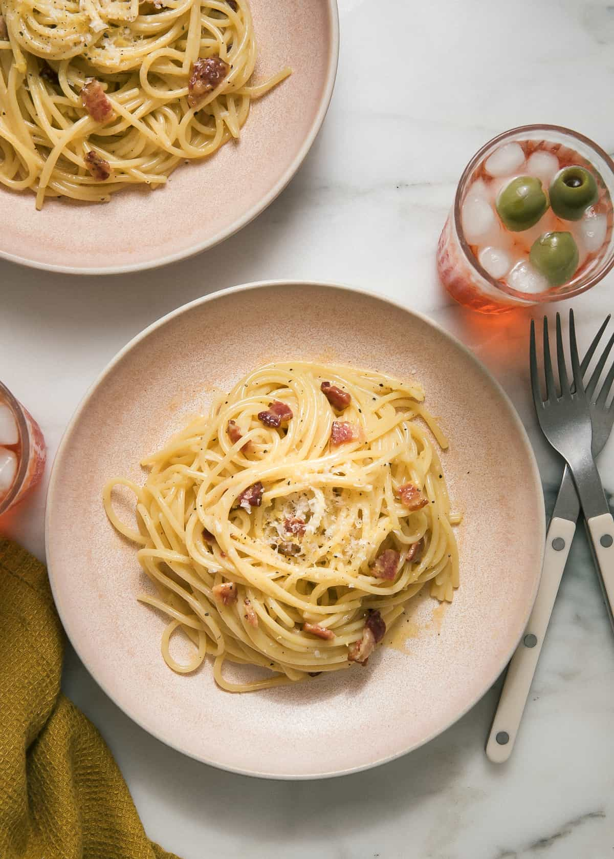 Lemon Pepper Carbonara
