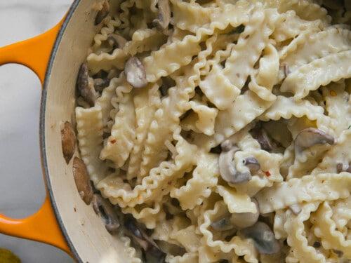 Creamy Mushroom Pasta A Cozy Kitchen