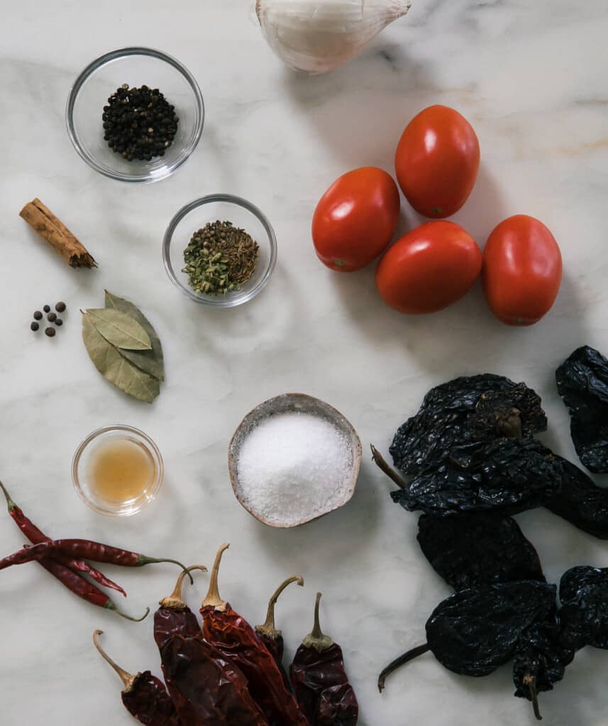 Birria Tacos Ingredients