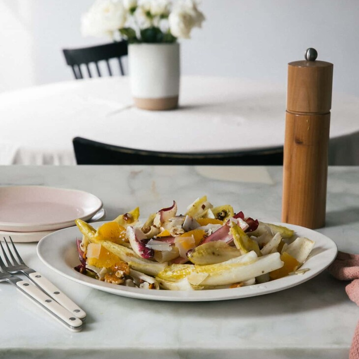 Endive Salad with Peppermill