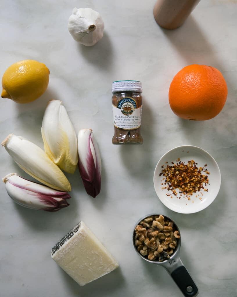 Endive Salad Ingredients