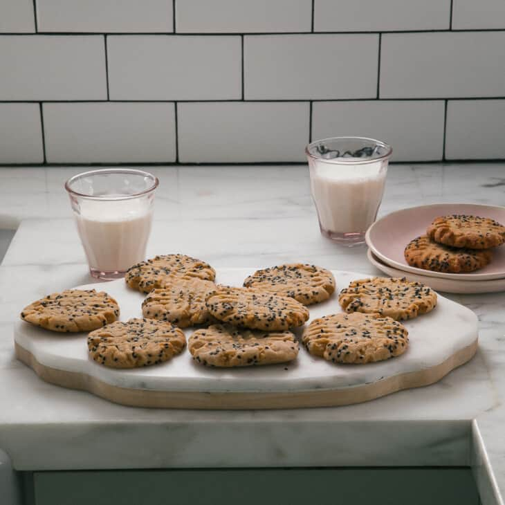 Miso Peanut Butter Cookies