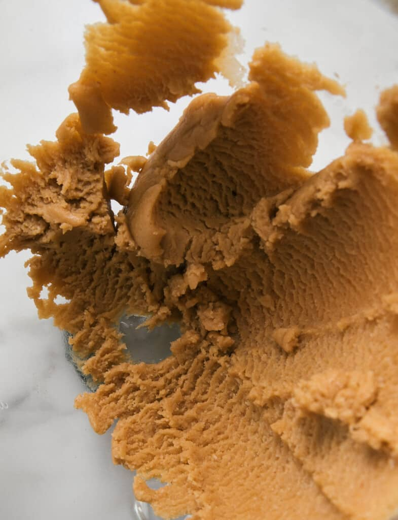 Miso Peanut Butter Cookie Dough