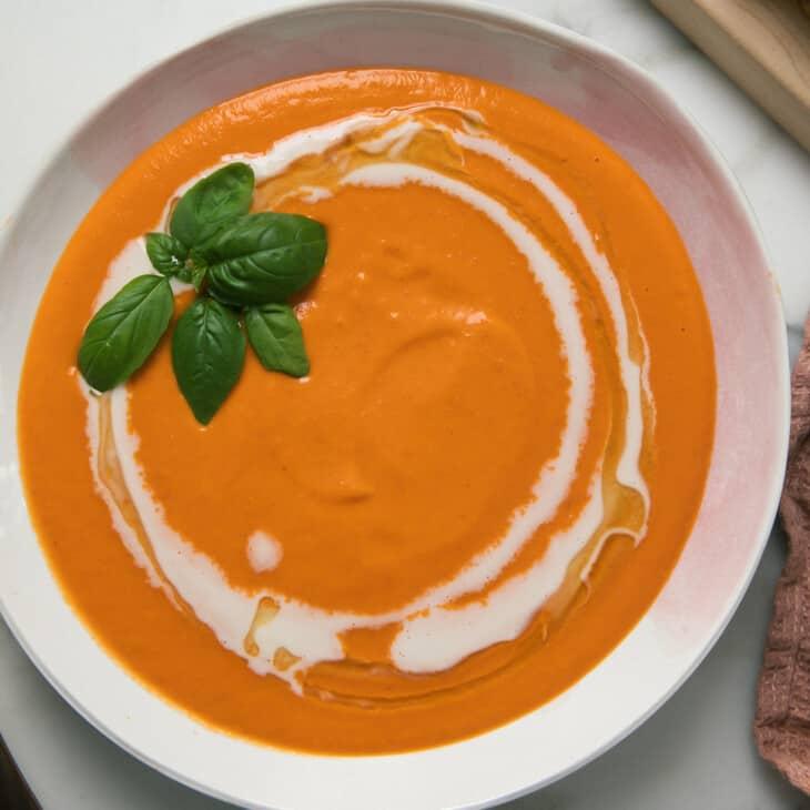 Sheet Pan Tomato Soup